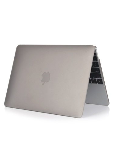 "Mcstorey MacBook Retina A1398 15"" 15.4"" Kılıf Kapak Koruyucu Hard Incase Mat Gri"